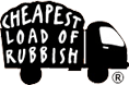 Cheapest Load of Rubbish Logo