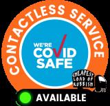 Covid Safe Cheapest Load Of Rubbish Removal Logo
